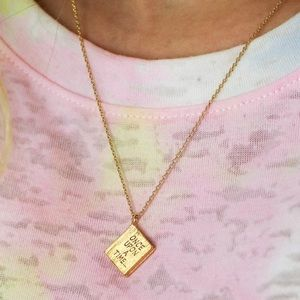 14 Karat gold dipped fairytale necklace